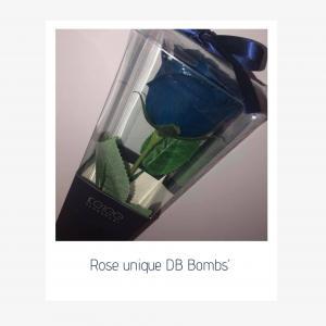 Rose unique bleu photo 1