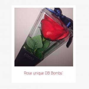 Rose unique rouge photo 1